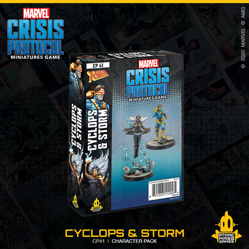 Marvel Crisis Protocol: Storm and Cyclops