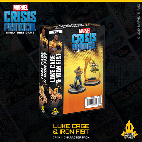 Marvel Crisis Protocol: Luke Cage & Iron Fist
