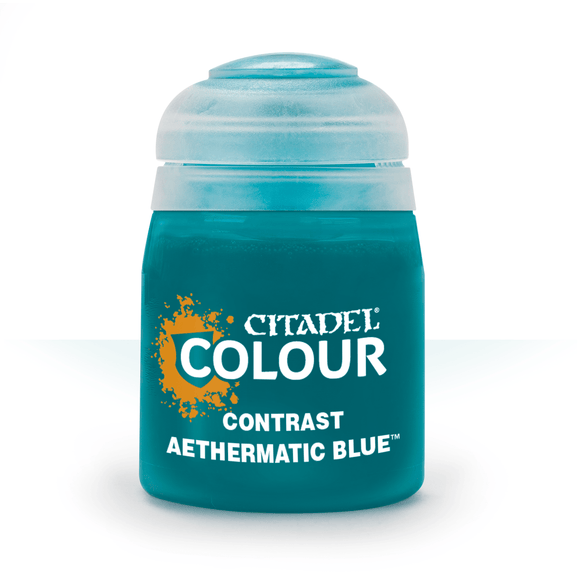 Citadel Paint: Contrast: Aethermatic Blue (18ml)