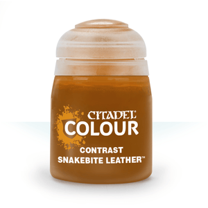 CITADEL PAINTS: CONTRAST: SNAKEBITE LEATHER (18ML)