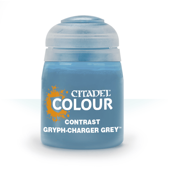 CITADEL PAINTS: CONTRAST: GRYPH-CHARGER GREY (18ML)