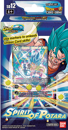 Dragon Ball Super CG: Starter Deck Spirit of Potara (SD12)