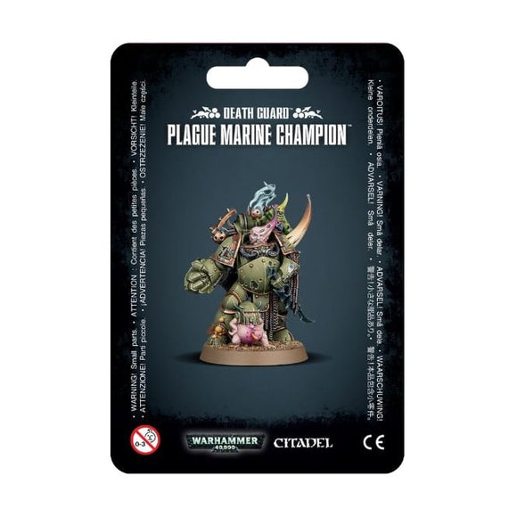 Warhammer 40,000: Death Guard: Plague Marine Champion