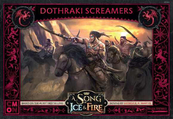 A Song Of Ice and Fire: Targaryen Dothraki Screamers