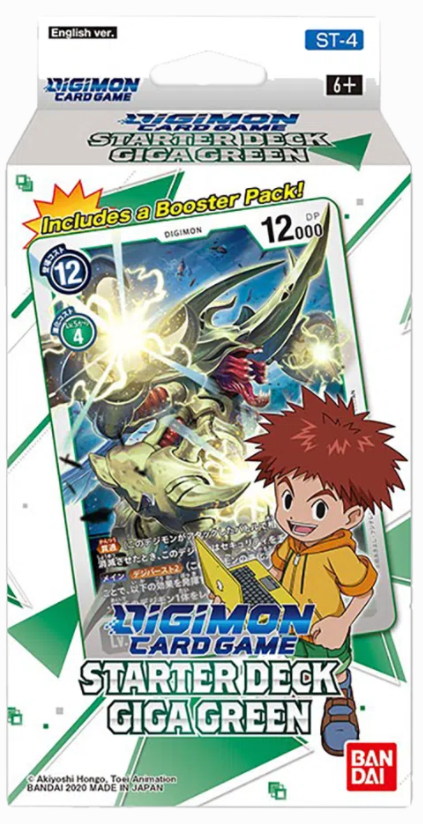 Digimon Card Game: Giga Green (ST-4)