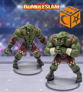 Orc Brawler & Orc Grappler