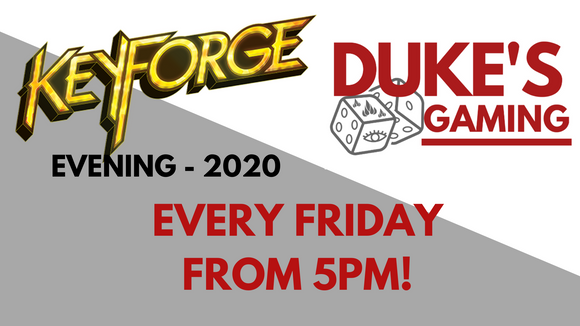 TICKET: Keyforge Evening