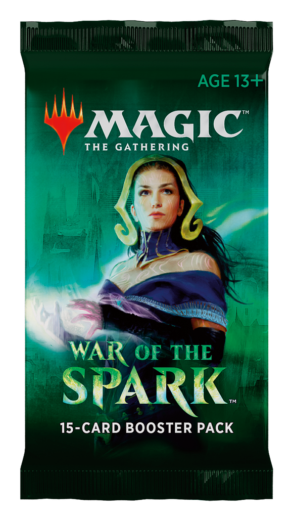 Magic The Gathering: War of the Spark 15 Card Booster Pack