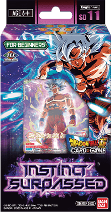 Dragon Ball Super CG: Starter Deck - Instinct Surpassed (DBS-SD11)