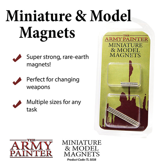 The Army Painter: Miniature & Model Magnets (2019)