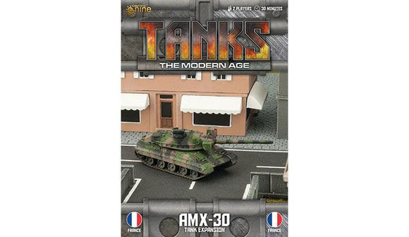 TANKS: The Modern Age French AMX-30/ 155mm SP