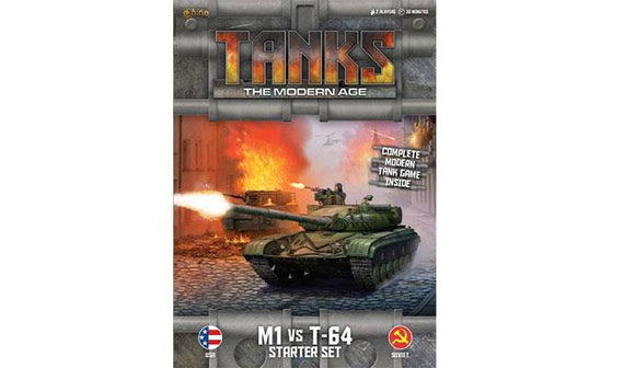 TANKS: The Modern Age  Starter Set - M1 vs T-64