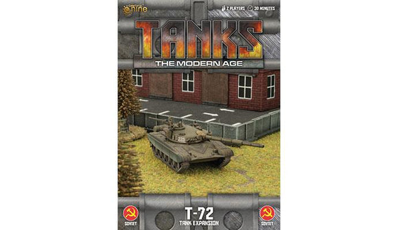 TANKS: The Modern Age Sov T-72