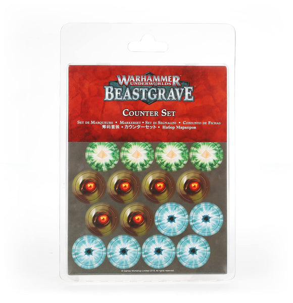 WARHAMMER UNDERWORLDS: BEASTGRAVE COUNTER SET