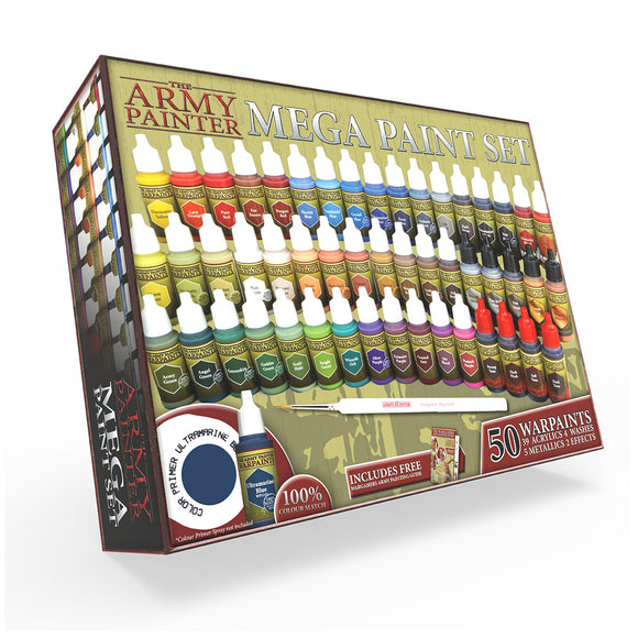 The Army Painter: Warpaints Mega Paint Set III