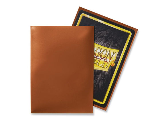 Dragon Shield 100 Standard Size Sleeves - Copper