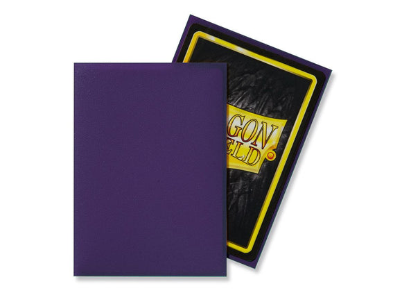 Dragon Shield 100 Standard Size Sleeves - Purple Matte