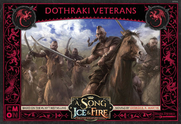 A Song Of Ice and Fire: Targaryen Dothraki Veterans