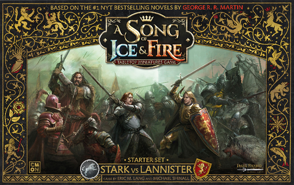 A Song Of Ice and Fire: Stark vs Lannister Starter set