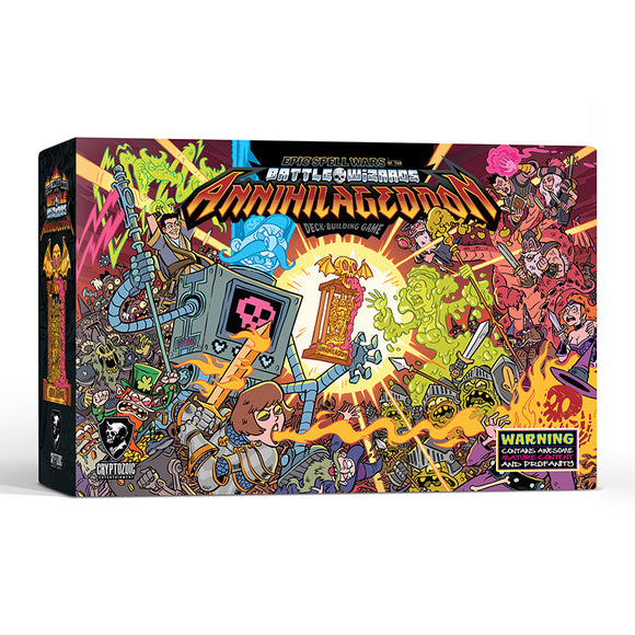 Epic Spell Wars of the Battle Wizards: ANNIHILAGEDDON Deck-Building Game