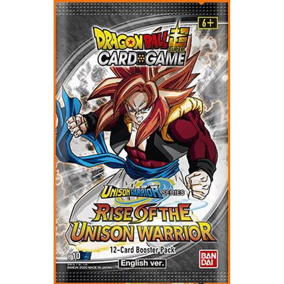 Dragon Ball Super CG: Booster Pack - Unison Warriors Series Set 01