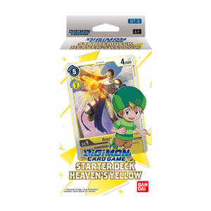 Digimon Card Game: Starter Deck 03 - Heaven's Yellow