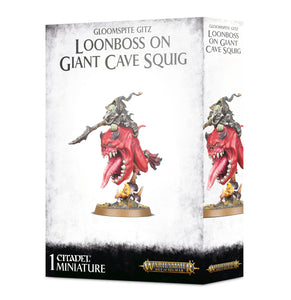 GLOOMSPTE GITZ: LOONBOSS ON GIANT CAVE SQUIG