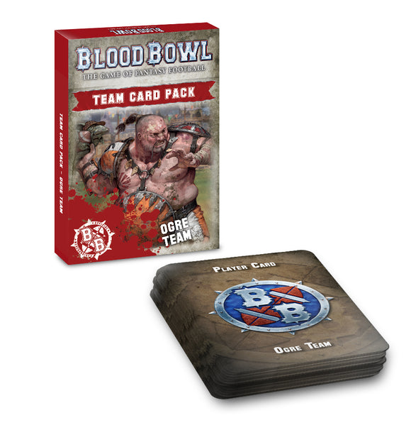 BLOOD BOWL: OGRE TEAM CARD PACK