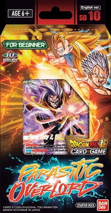 Dragon Ball Super CG: Starter Deck - Parasitic Overlord (DBS-SD10)