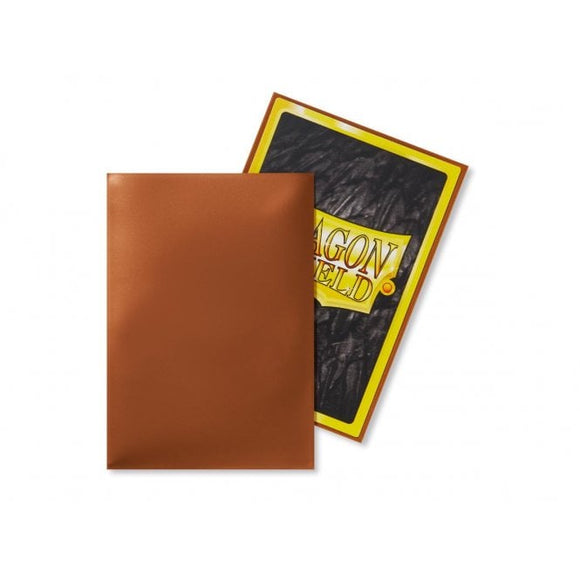 Dragon Shield 50 Standard Size Sleeves - Copper