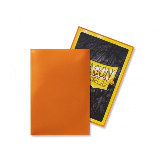 Dragon Shield 50 Standard Size Sleeves - Orange