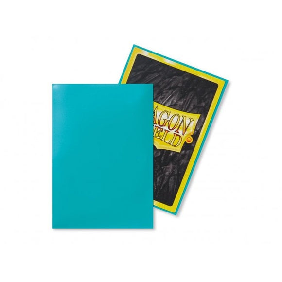 Dragon Shield 50 Standard Size Sleeves - Turquoise