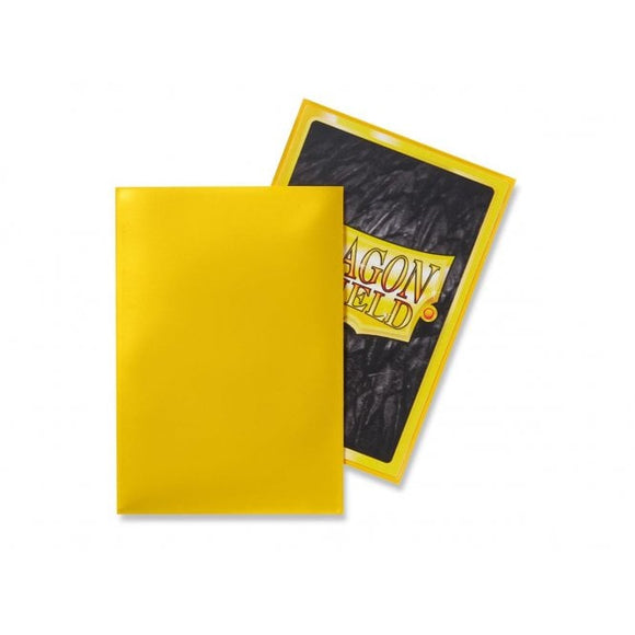 Dragon Shield 50 Standard Size Sleeves - Yellow