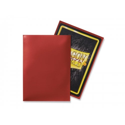 Dragon Shield 50 Standard Size Sleeves - Red