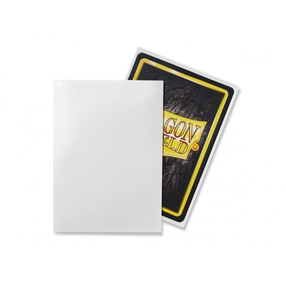 Dragon Shield 50 Standard Size Sleeves - White
