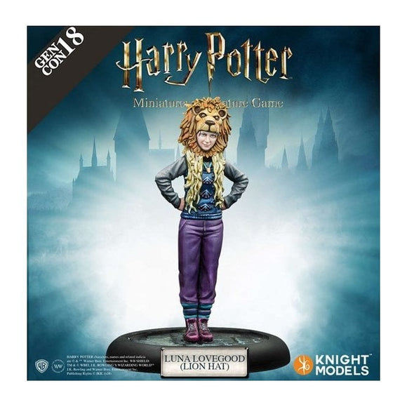 Luna Lovegood Lion hat - GEN CON 2018 Exclusive