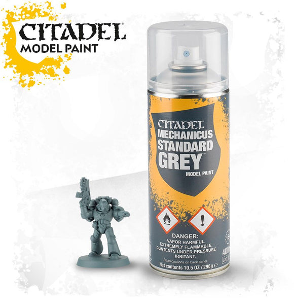 CITADEL: SPRAY PAINT: MECHANICUS STANDARD GREY SPRAY
