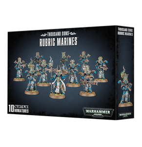 Warhammer 40,000: Thousand Sons: Rubric Marines