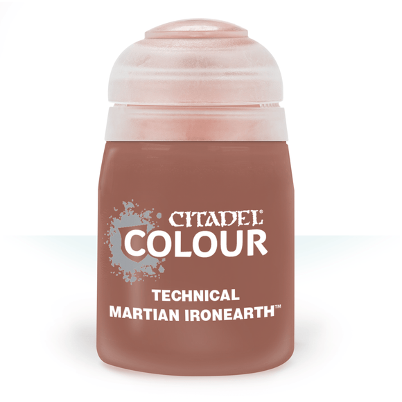 CITADEL PAINTS: TECHNICAL: MARTIAN IRONEARTH