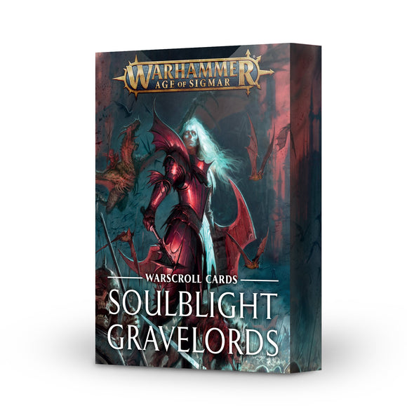 Age of Sigmar: Warscroll Cards: Soulblight Gravelords