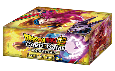 Dragon Ball Super CG: Gift Box 02 - Battle of the Gods Set