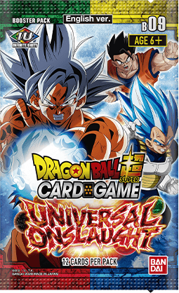 Dragon Ball Super CG: Booster Pack - Universal Onslaught B09