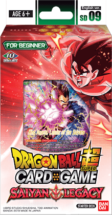 Dragon Ball Super CG: Starter Deck - Saiyan Legacy (DBS-SD09)