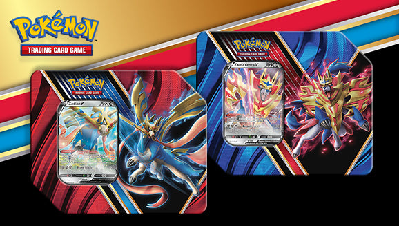 Pokemon Trading Card Game - Legends of Galar Tin
