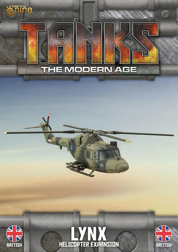 TANKS: The Modern Age British Lynx (Helo)