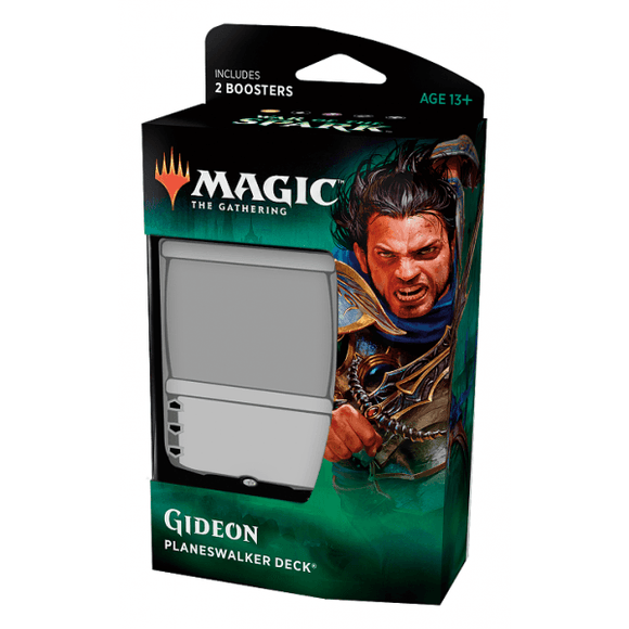 Magic The Gathering: War of the Spark Planeswalker Deck - Gideon