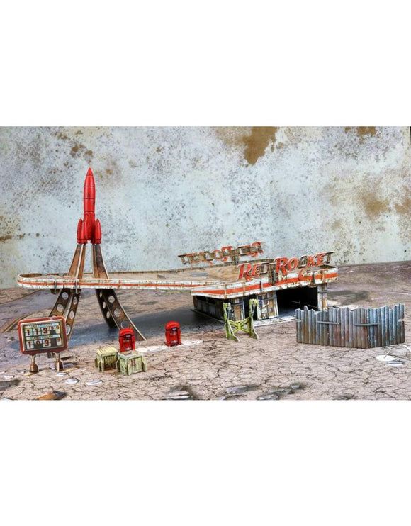 Red Rocket Scenic Set