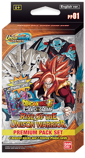Dragon Ball Super CG: Premium Pack - Rise of the Unison Warrior (PP01)
