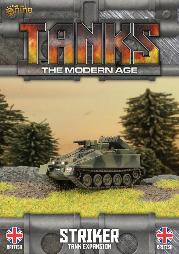 TANKS: The Modern Age British Striker/Milan MCT