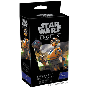 Star Wars Legion: Separatist Specialists Personnel Expansion